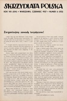 Skrzydlata Polska. 1937, nr6