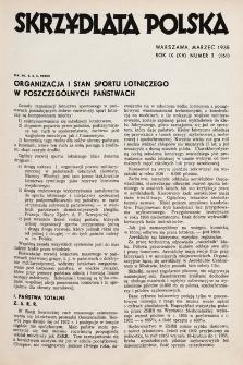 Skrzydlata Polska. 1938, nr3