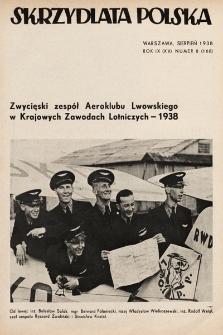 Skrzydlata Polska. 1938, nr8