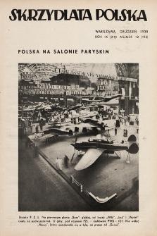 Skrzydlata Polska. 1938, nr12
