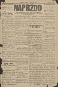 Naprzód : organ centralny polskiej partyi socyalno-demokratycznej. 1907, nr2