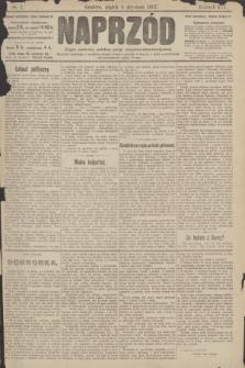 Naprzód : organ centralny polskiej partyi socyalno-demokratycznej. 1907, nr4