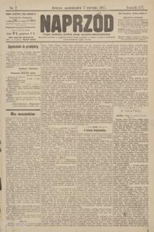 Naprzód : organ centralny polskiej partyi socyalno-demokratycznej. 1907, nr7