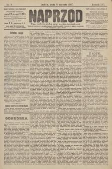 Naprzód : organ centralny polskiej partyi socyalno-demokratycznej. 1907, nr9
