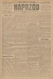Naprzód : organ centralny polskiej partyi socyalno-demokratycznej. 1907, nr10