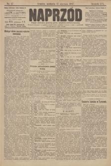 Naprzód : organ centralny polskiej partyi socyalno-demokratycznej. 1907, nr27