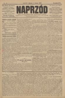 Naprzód : organ centralny polskiej partyi socyalno-demokratycznej. 1907, nr35