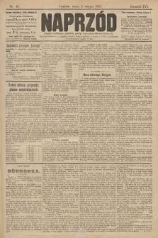 Naprzód : organ centralny polskiej partyi socyalno-demokratycznej. 1907, nr36