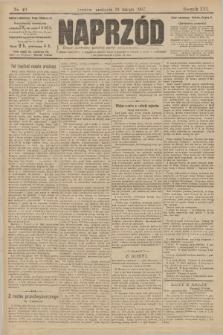 Naprzód : organ centralny polskiej partyi socyalno-demokratycznej. 1907, nr40
