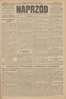 Naprzód : organ centralny polskiej partyi socyalno-demokratycznej. 1907, nr46