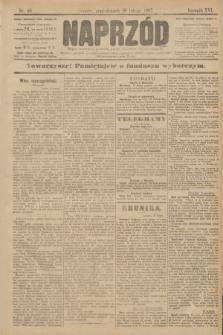 Naprzód : organ centralny polskiej partyi socyalno-demokratycznej. 1907, nr48