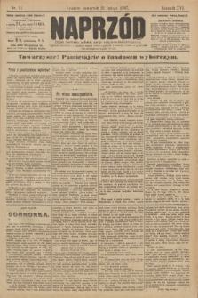Naprzód : organ centralny polskiej partyi socyalno-demokratycznej. 1907, nr51