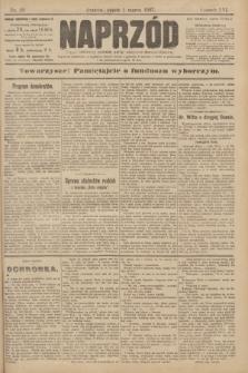 Naprzód : organ centralny polskiej partyi socyalno-demokratycznej. 1907, nr59