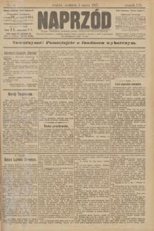 Naprzód : organ centralny polskiej partyi socyalno-demokratycznej. 1907, nr61
