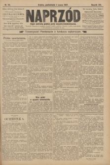 Naprzód : organ centralny polskiej partyi socyalno-demokratycznej. 1907, nr62