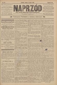 Naprzód : organ centralny polskiej partyi socyalno-demokratycznej. 1907, nr67
