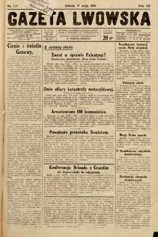 Gazeta Lwowska. 1930, nr113