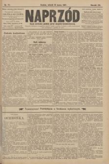 Naprzód : organ centralny polskiej partyi socyalno-demokratycznej. 1907, nr77