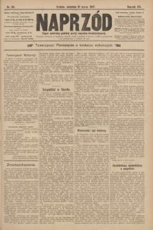 Naprzód : organ centralny polskiej partyi socyalno-demokratycznej. 1907, nr89