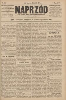 Naprzód : organ centralny polskiej partyi socyalno-demokratycznej. 1907, nr90