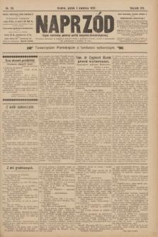 Naprzód : organ centralny polskiej partyi socyalno-demokratycznej. 1907, nr93 [nakład pierwszy skonfiskowany]