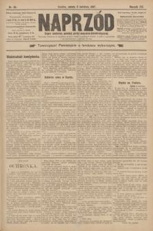 Naprzód : organ centralny polskiej partyi socyalno-demokratycznej. 1907, nr94