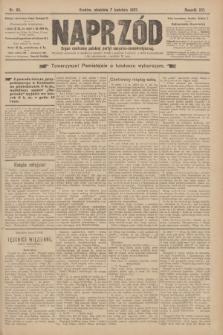 Naprzód : organ centralny polskiej partyi socyalno-demokratycznej. 1907, nr95