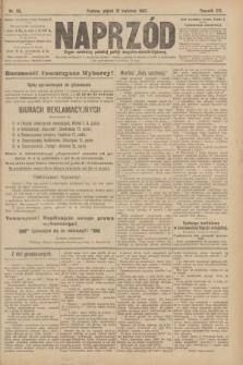 Naprzód : organ centralny polskiej partyi socyalno-demokratycznej. 1907, nr99