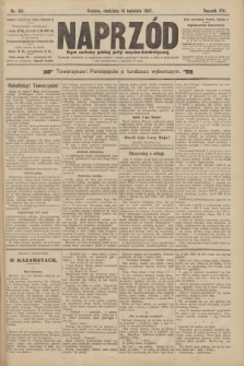 Naprzód : organ centralny polskiej partyi socyalno-demokratycznej. 1907, nr101