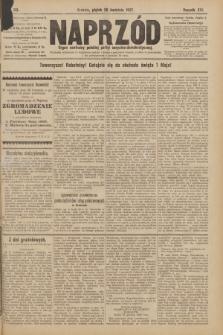 Naprzód : organ centralny polskiej partyi socyalno-demokratycznej. 1907, nr113