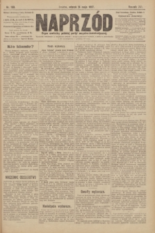 Naprzód : organ centralny polskiej partyi socyalno-demokratycznej. 1907, nr130