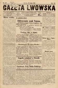 Gazeta Lwowska. 1930, nr119