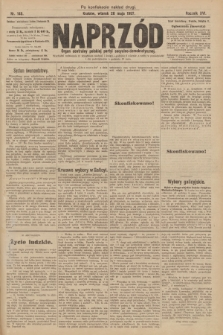 Naprzód : organ centralny polskiej partyi socyalno-demokratycznej. 1907, nr149 (po konfiskacie nakład drugi)