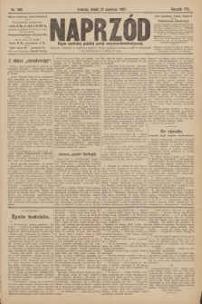 Naprzód : organ centralny polskiej partyi socyalno-demokratycznej. 1907, nr165