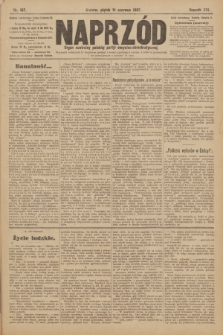 Naprzód : organ centralny polskiej partyi socyalno-demokratycznej. 1907, nr167