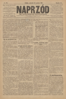 Naprzód : organ centralny polskiej partyi socyalno-demokratycznej. 1907, nr173