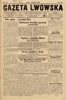 Gazeta Lwowska. 1930, nr127