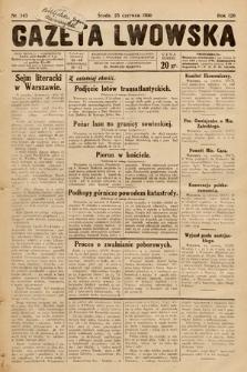 Gazeta Lwowska. 1930, nr143