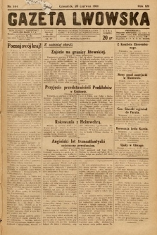 Gazeta Lwowska. 1930, nr144