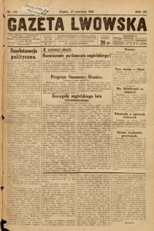 Gazeta Lwowska. 1930, nr145