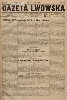Gazeta Lwowska. 1930, nr154