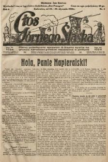 Głos Górnego Śląska : pismo poświęcone sprawom G. Śląska oparte na gruncie narodowo-polskim niezależne w polityce. 1928, nr4