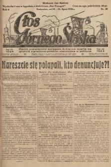 Głos Górnego Śląska : pismo poświęcone sprawom G. Śląska oparte na gruncie narodowo-polskim niezależne w polityce. 1928, nr30