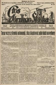 Głos Górnego Śląska : pismo poświęcone sprawom G. Śląska oparte na gruncie narodowo-polskim niezależne w polityce. 1929, nr26