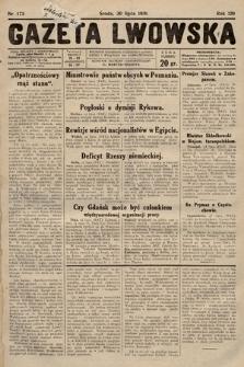 Gazeta Lwowska. 1930, nr173