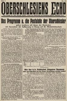 Głos Górnego Śląska : pismo poświęcone sprawom G. Śląska oparte na gruncie narodowo-polskim niezależne w polityce. 1931, nr32