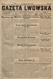 Gazeta Lwowska. 1930, nr174