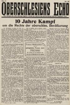 Głos Górnego Śląska : pismo poświęcone sprawom G. Śląska oparte na gruncie narodowo-polskim niezależne w polityce. 1931, nr44