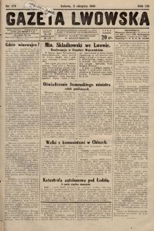 Gazeta Lwowska. 1930, nr176