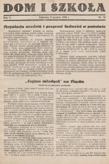 Dom i Szkoła. 1934, nr24